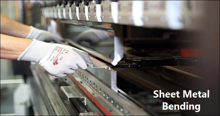 Sheet metal bending machine safety