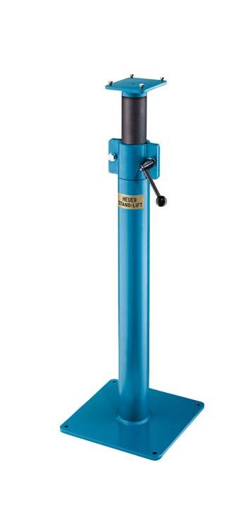 Adjustable height floor stand