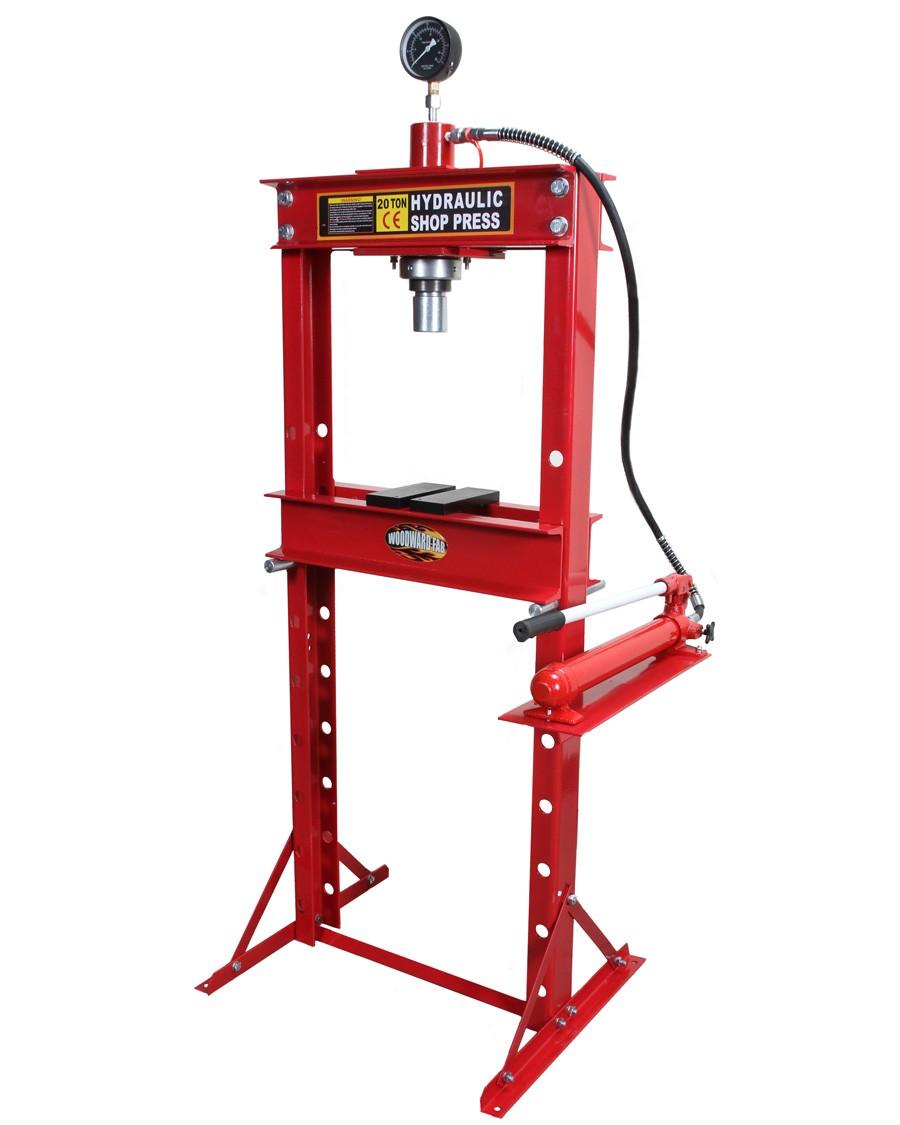 Woodward Fab Hydraulic Shop Press PR104