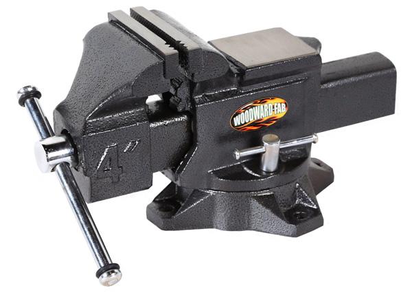 Woodward Fab Heck Industries Cast Iron Vise 4″ Jaws WFV4.0